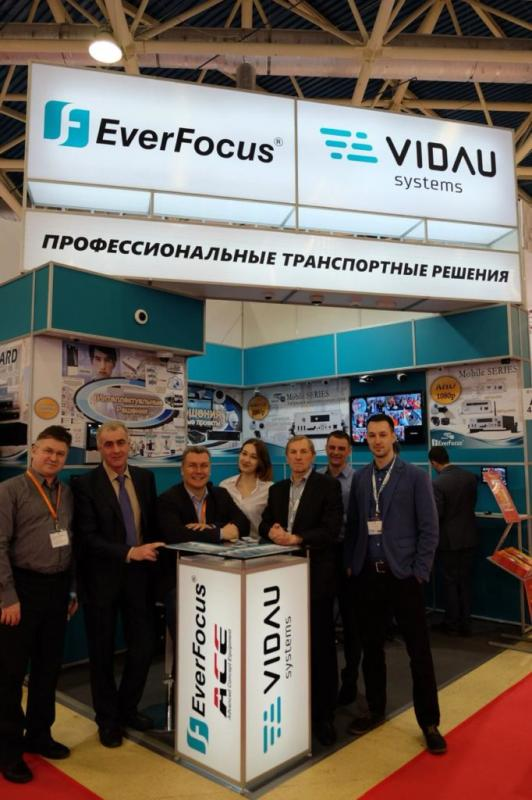 EverFocus на выставке Securika Moscow/MIPS-2019